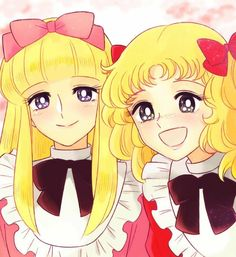 Candy e Annie Candy Anthony, Candy Icon, Candy S, Old Anime, Anime Manga, Candy Drawing, Candy Y Terry, Dulce Candy, Favorite Candy