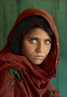 "McCurry took what is inarguably the most famous Nat Geo image ever — the 1985 cover photograph of Sharbat Gula, a.k.a. ""the Afghan Girl,"" a shawl draped over her head, green eyes blazing, in a refugee camp in Pakistan."