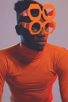 Pop Art Knitwear Catalogs - The Rebel Yuths Lookbook Features Eccentric Eyewear Accents (GALLERY)
