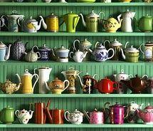 My little secret granny-love - teapots & teacups!