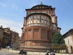 Maria delle Grazie convento Maria das Graças onde se encontra o cenaculo de Leonardo da Vinci