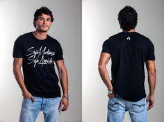 Camiseta ARRISK Change, modelagem reta, 100% algodão, estampa em silk. Ref: A001 / R$99,00  /  Vendas WhatsApp: 99633-3563