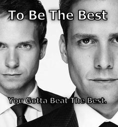Patrick J. Adams and Gabriel Macht (Suits) love that show!