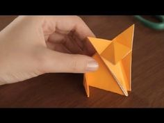 17 ideas for origami fox bookmark 17 ideas for origami fox bookmark Origami Fox Easy, Kids Origami, Origami Bird, Useful Origami, Origami Animals, Origami Stars, Origami Flowers, Origami Folding, Paper Folding