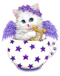 KITTY ANGEL BY KAYOMI HARAI VISIT OUR WEBSITE www.lailas.com for more great images