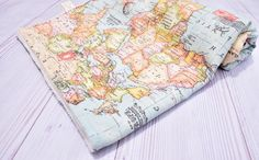 Welcome to the world blanket baby blanket world map minky blanket travel theme blanket world map baby blanket by hagarsewingshop gumiabroncs Gallery