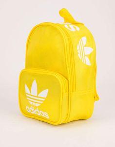 Yellow Backpack, Mini Backpack, Girls Summer Outfits, Summer Clothes, Yellow Adidas, Adidas Backpack, Adidas Originals, The Originals, Tween Girls