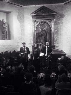 Conjunto Nereydas. Javier Ulises Illán, Eva del Campo y Guillermo Turina