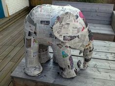 How to build an elephant in 5 easy steps. I want me an elephant.