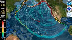 This Simulation Shows What Would Happen If an Earthquake Caused a Mega-Tsunami Mega Tsunami, Tsunami Waves, Tsunami Warning, Earthquake And Tsunami, Before The Flood, The Son Of Man, New Politics, Natural Disasters