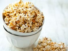 Buffalo Ranch Popcorn. A healthy alternative to chips or other salty snacks