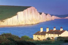 No...not the White Cliffs of Dover but rather The Seven Sisters