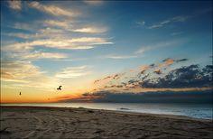 Hampton Beach Sunrise Wallpaper | Beach Wallpaper Backgrounds