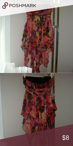 Summer flirt dress Perfect for summer! Great condition Dresses Strapless