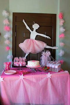 50 inspirações - Festa Infantil Bailarina - Dicas da Japa