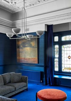 A restored Victorian villa receives a modern pavilion extension | Belle Grand Entryway, Entry Hall, Floor Sitting, French Oak, House Extensions, Ceiling Beams, Pavilion, Contemporary, Modern