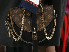 Louis Vuitton's Spring 2018 Runway Bags Went in an Angular, Minimal Direction