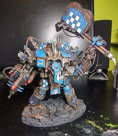Warhammer 40k Ork looted Imperial Knight/Gorkanaut