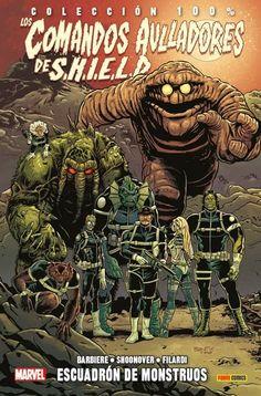 Los comandos aulladores de SHIELD. Escuadrón de monstruos