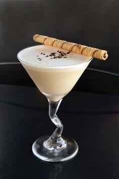 Cheesecake Martini........this website has quite a few good martini recipes!