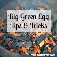 Before Summer, Brush up on your Big Green Egg Tips and Tricks! {thepatrioticpam} #myhttender #biggreenegg