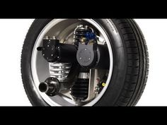 Michelin Active Wheel: Tire which Electric Motor and Suspension