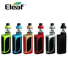 Original Eleaf iKonn 220 with Ello Kit without 18650 Battery max 220W output Electronic cigarette fit HW1/HW2/HW3/HW4 coil heads #Affiliate
