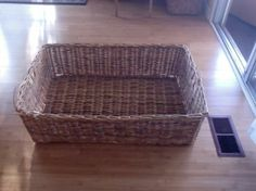 2 large storage baskets $20