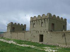 「ヒッタイトの首都ハットゥシャ」城砦跡の王宮遺跡 トルコ