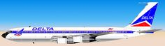 Delta Air Lines Boeing 707-300