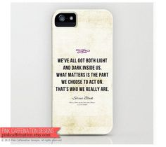 Harry Potter Sirius Black Quote iPhone Case / by PinkCaffeination, $32.00