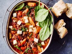Halloumi, Special Recipes, A Table, A Food, Slow Cooker, Curry, Food Porn, Veggies, Eat