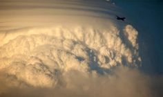 More Incredible and Fascinating Clouds ...that make our sky worthy to look at from time to time (those who only look at the computer monitor, take note). Here is an extremely strong thunderstorm cloud that brewed over northwest Calgary: