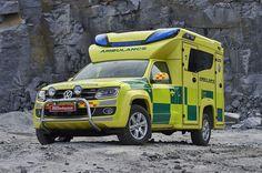 Volkswagen Amarok Tamlans Negea Ambulance