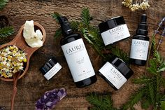 Based in Sausalito, Laurel Whole Plant Organics specializes in sumptuous 100-percent-organic oils, serums, and balms. #naturalbeauty