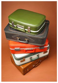 Vintage Suitcases by Brian Greathouse, via Flickr