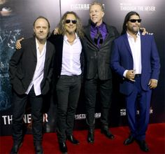 "Premiere Of "" Metallica - Through The Never""San Francisco, CA, USA16 Sept, 2013"