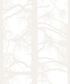 Vallila - Kompassi Wallpaper Collection - Kelohonka White (available through Stark Carpet in the US)