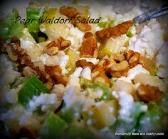 Pear Waldorf Salad (E)