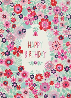 Jane Ryder-gray - Modern Flowers Birthday