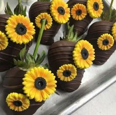 Wedding ideas country theme bridal shower new ideas Sunflower Birthday Parties, Sunflower Party, Sunflower Baby Showers, Sunflower Wedding Cakes, Sunflower Cupcakes, Chocolate Covered Strawberries, Girl Shower, Shower Cakes, Bridal Showers