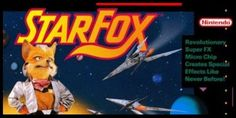 Star Fox - One game I spent hours playing