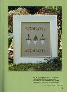 Gallery.ru / Фото #11 - CD Adent - Auroraten Advent, 9 And 10, Cross Stitch, Frame, Gallery, Home Decor, Nova, Punto De Cruz, Embroidery Designs
