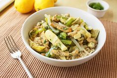 """Mediterranean Chicken and Artichoke Stir Fry 