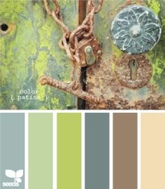 One of my favorite sources for color inspiration is Design Seeds . Jessica loves color and dreams up and creates these amazing color schemes. Wall Colors, House Colors, Paint Colors, Hallway Colors, Design Seeds, Colour Schemes, Color Combos, Paint Combinations, Paint Schemes