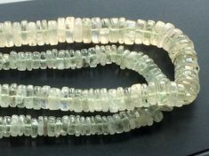 Green Amethyst Beads Green Amethyst Spacer Beads by gemsforjewels