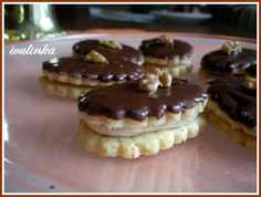 Small Desserts, Sweet Desserts, Sweet Recipes, Christmas Sweets, Christmas Baking, Cake Recept, Czech Recipes, Eclairs, Desert Recipes