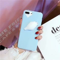 Blue Seal Lovely Squishy Phone Case for iPhone 6, 6 Plus, 7 and 6 Plus