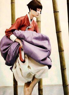 Ao contrário do quimono japonês bem conhecido e qipao chinês, o hanbok coreano tem desfrutado pouco reconhecimento, especialmente nos círculos ocidentais, até anos recentes. Hanbok em coreano signi…