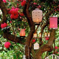 Stunning garden lighting | Garden lighting ideas | housetohome.co.uk